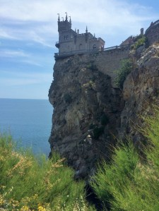 Swallow's Nest from land