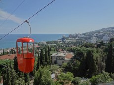 The funicular over Yalta