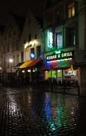Brussels night lights