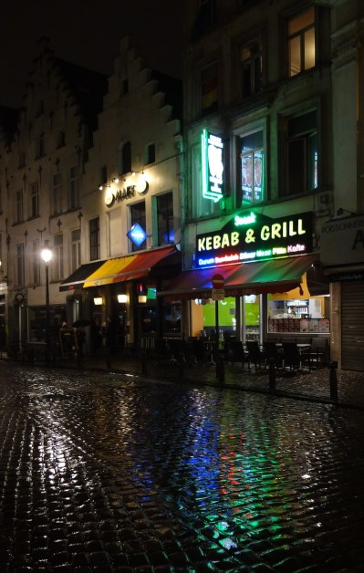 Brussels night lights