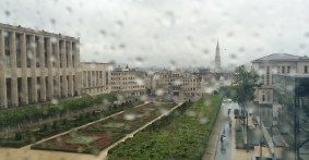 View from the Mont des Arts