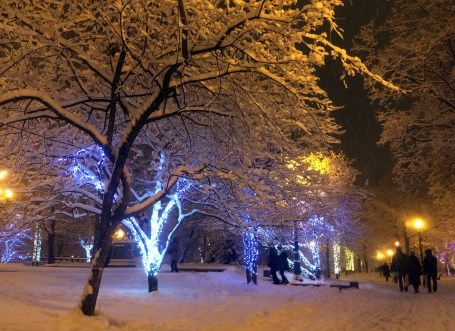 Moscow snow storm 2