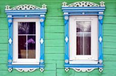 Suzdal wood architecture zodchestvo window 3