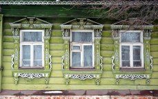 Suzdal wood architecture zodchestvo window 9
