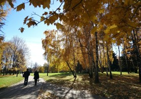 Autumn in Kolomenskoye