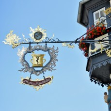 Rothenburg shop sign 20