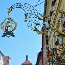 Rothenburg shop sign 8