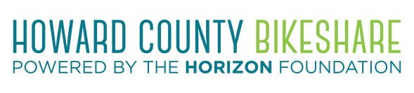 Howard County Bikeshare logo horiz final