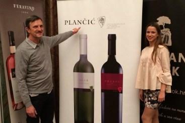 Antun Plančić and daughter Magdalena