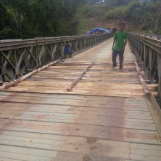 Aravure Bridge - Boarder of Kairuku Hiri and Goilala