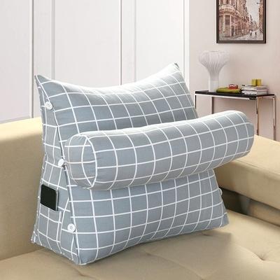 Gối tựa đầu giường hình tam giác trơn