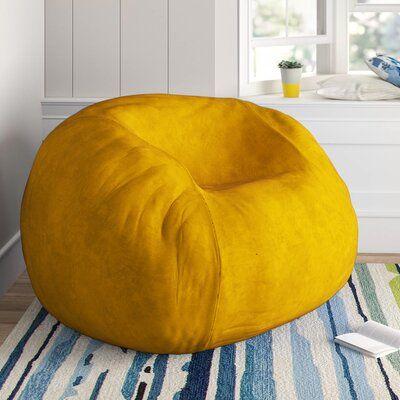 Ghế lười tròn hình bí ngô