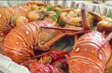 US Virgin Islands Mukbang Seafood Boil