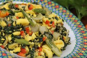 Caribbean Breakfast Plate