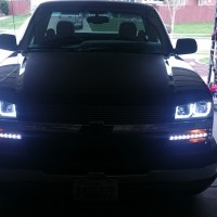 AnzoUSA Headlights for 2003 Silverado