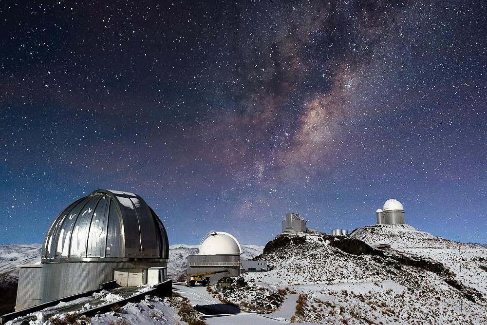 View across the Sierra de los Filabres in Spain from the Calar Alto Observatory, Almería, Spain