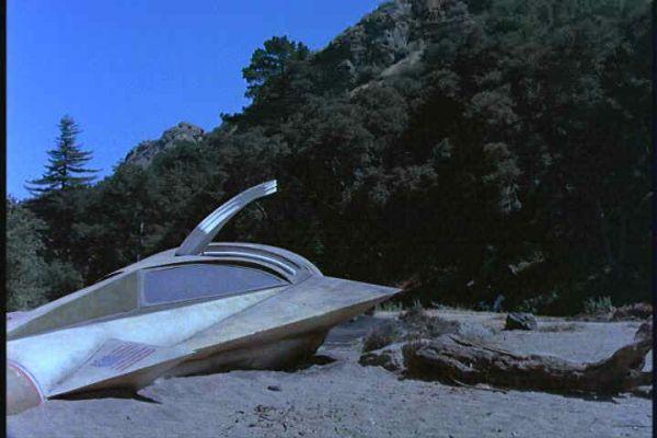 Virdon retrieves the flight data recorder and escapes ...