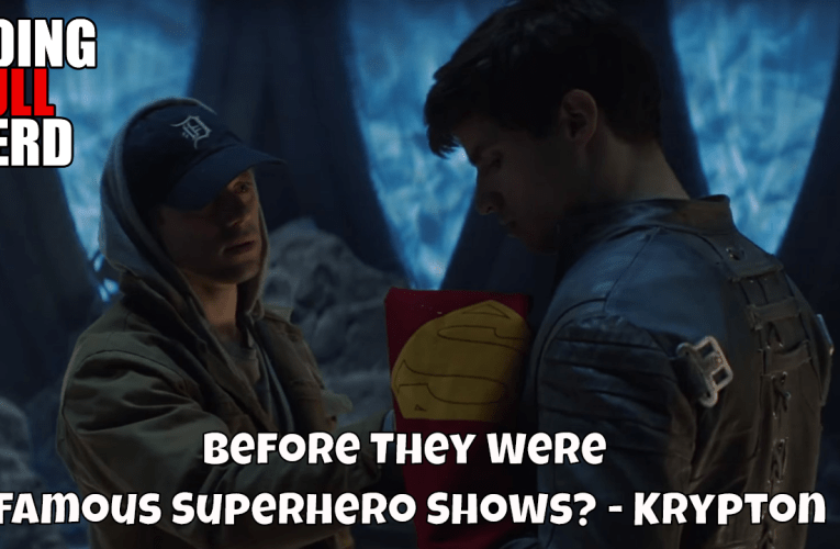 Before They Were Famous Superhero Shows?