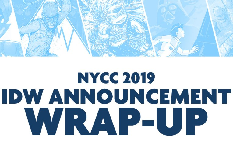 IDW's Show-Stopping Highlights from New York Comic-Con 2019
