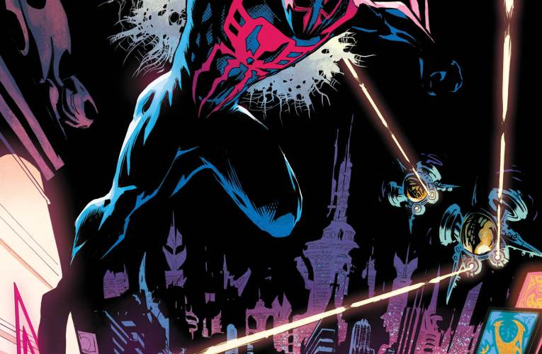 THE FUTURE IS IN PERIL IN THE AMAZING SPIDER-MAN '2099' LAUNCH TRAILER!