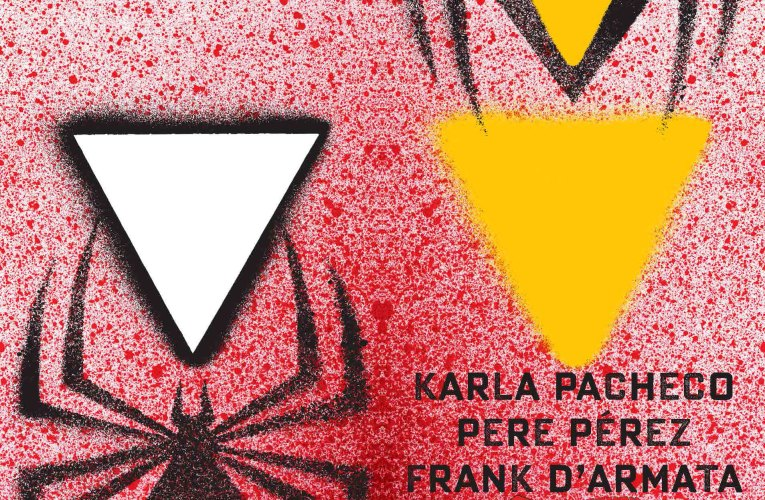 CHIP KIDD'S SPIDER-WOMAN #1 DIE-CUT COVER REVEALED!