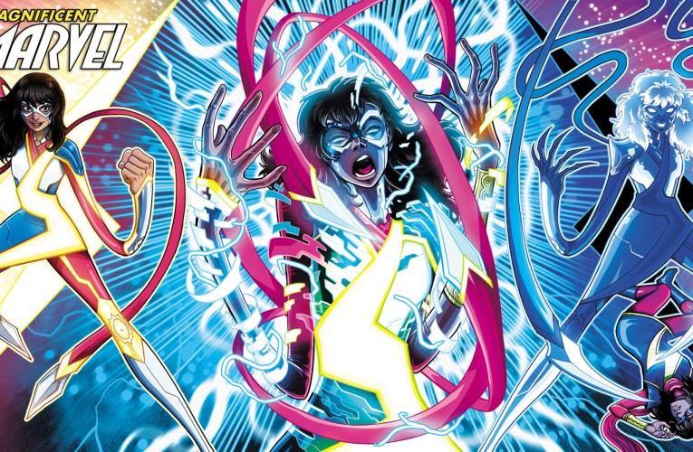 STORMRANGER TAKES OVER IN ALL NEW MS. MARVEL SECOND PRINTING VARIANTS!
