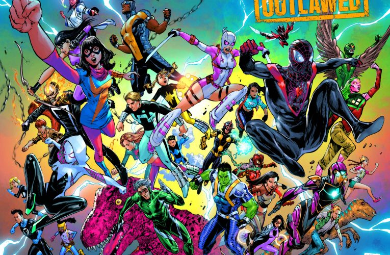 MARVEL'S MOST PROMISING HEROES BAND TOGETHER IN TONY DANIEL'S OUTLAWED COVER!