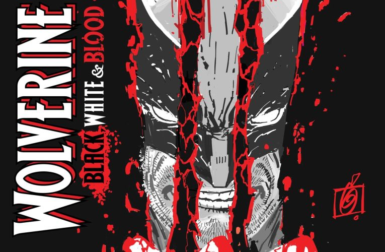 WOLVERINE SLASHES HIS WAY TOWARDS HIS NEXT ADVENTURE IN RON GARNEY'S WOLVERINE: BLACK, WHITE, & BLOOD #1 COVER