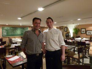 Daniel & Chef Paulo
