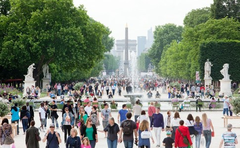 French Tourism Drops
