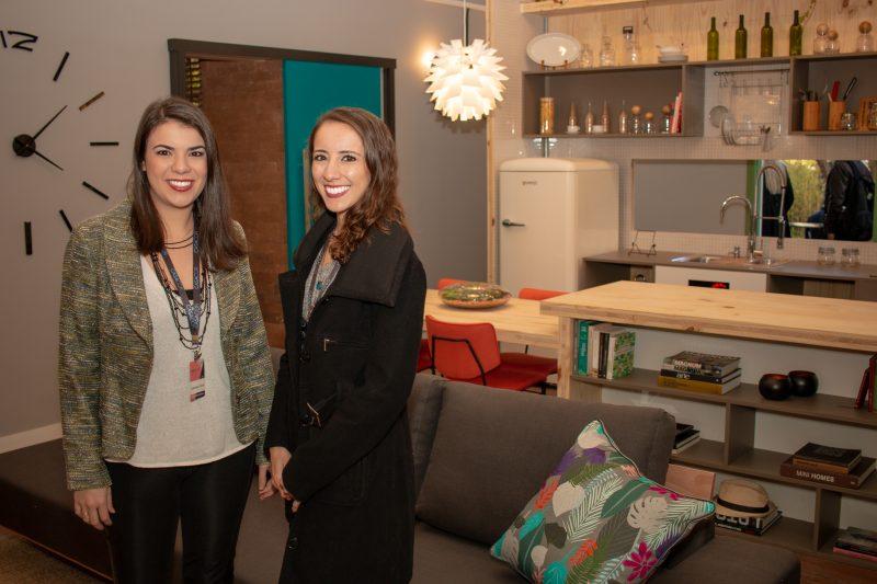 Gabriela Lotufo e Larissa Oliveira, arquitetas responsável pelo projeto