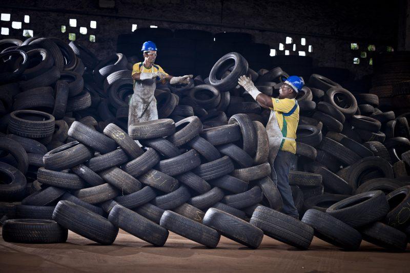 Reciclanip já destinou cerca de 835 milhões de pneus inservíveis