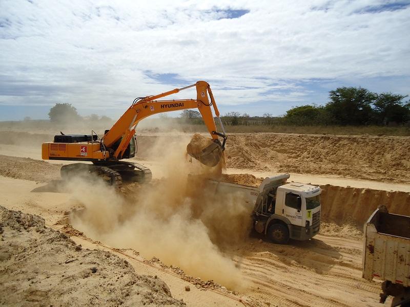 equipamento para construção