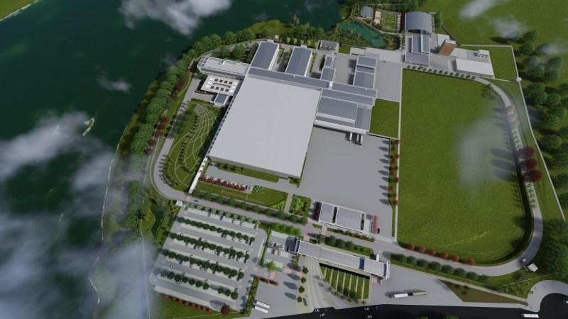 vista aérea Centro Tecnológico de Plataformas Vegetais