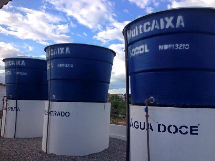 Armazenamento de águas dessalinizadas no estado do Rio Grande do Norte