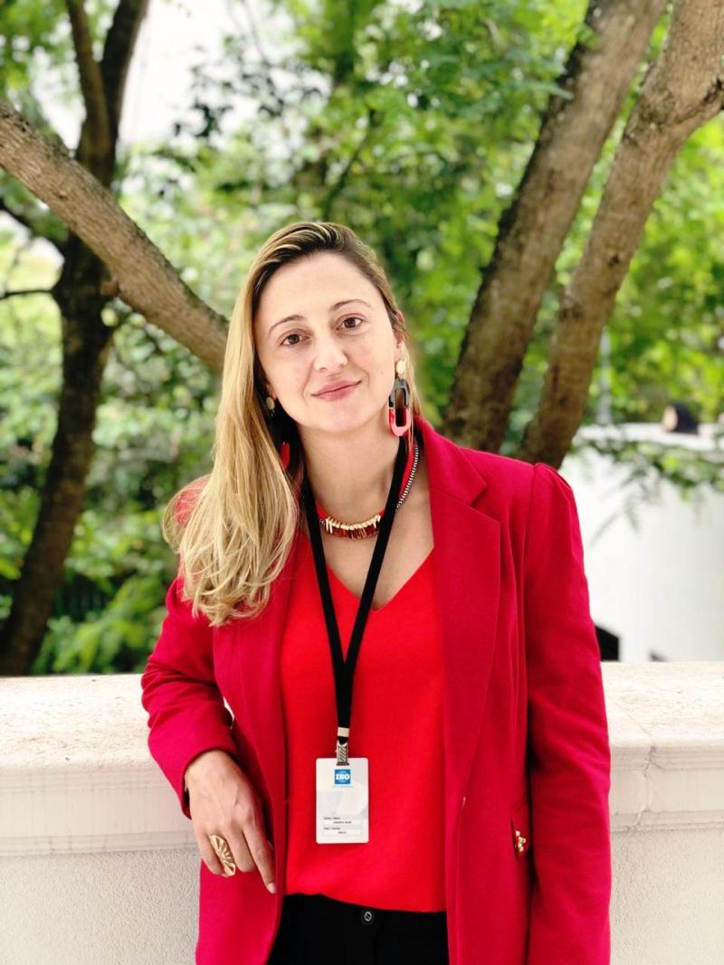 Amanda Neme, coordenadora da Iniciativa Anfacer + Sustentável