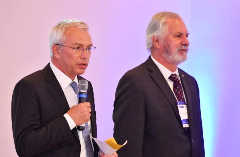 Patrick Nossent e José Joaquim do Amaral Ferreira