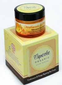 cupcake organic crema frankincense & orange