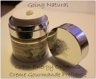 crema viso bio Creme Gourmande Precieuse Green Energy Organics