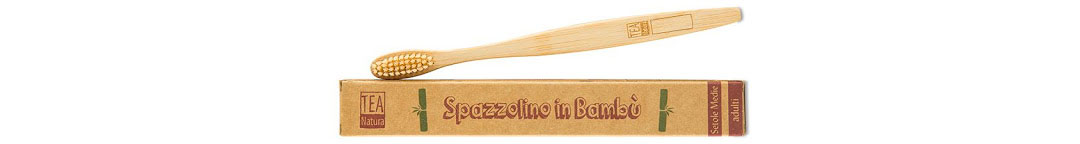 spazzolini in bambu tea natura