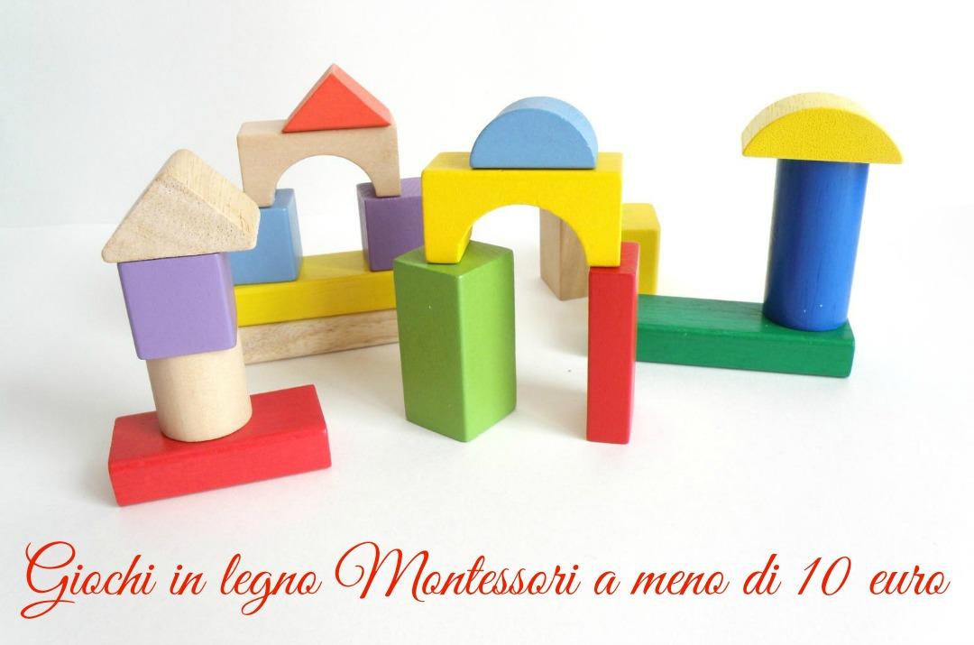 giochi in legno montessori