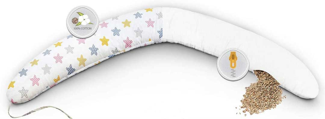 cuscino allattamento migliore imbottitura farro