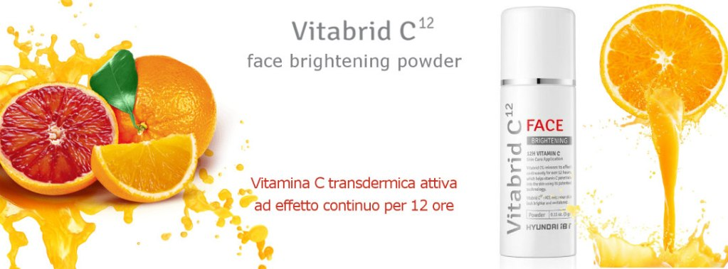 Vitabrid C12 brightening face powder
