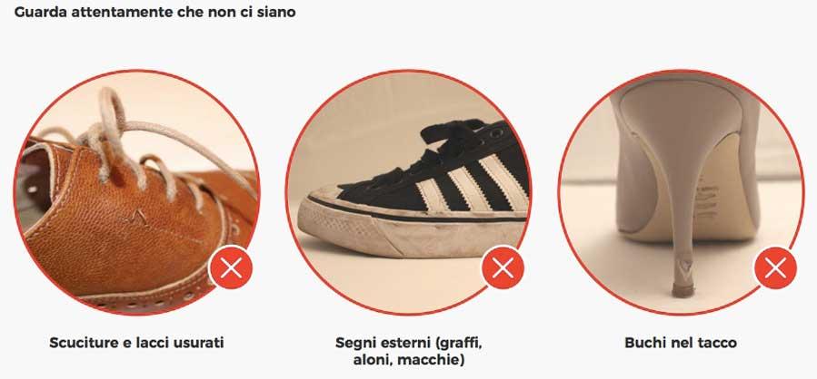 armadio verde scarpe escluse