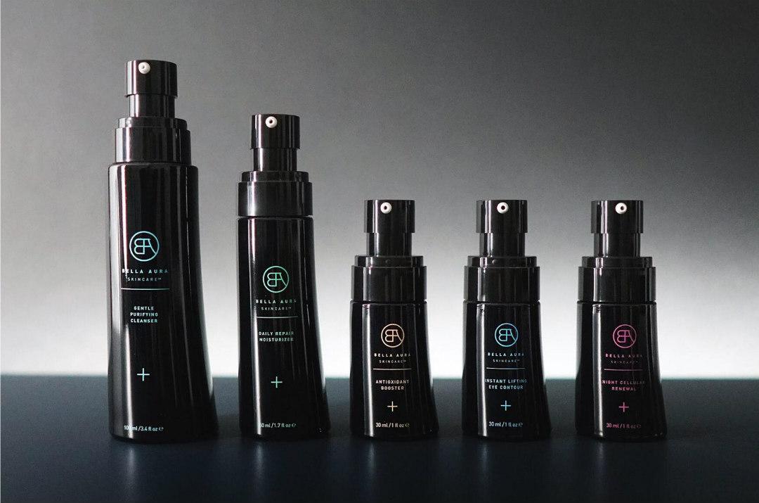 bella aura skincare new packaging