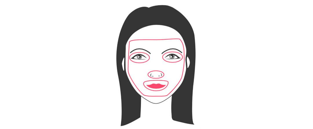 j-beauty maschera cotone con lozione