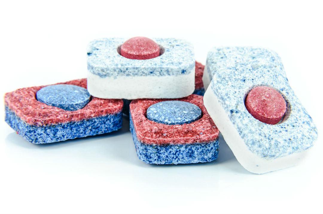 pastiglie lavastoviglie con brillantante