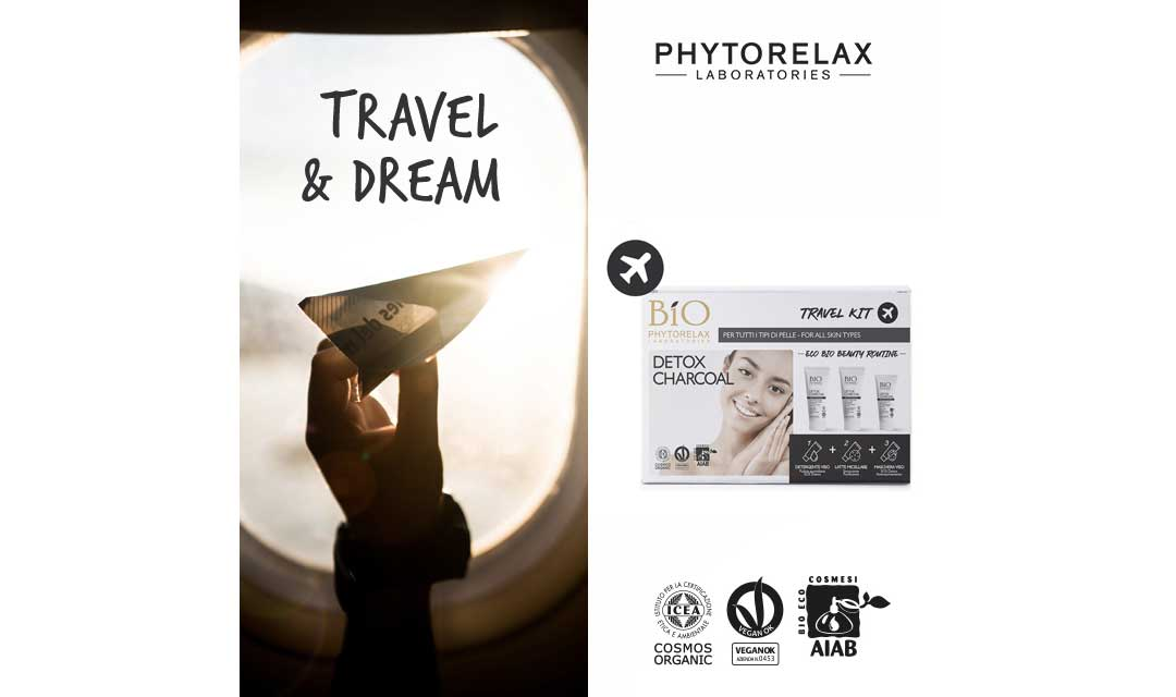 travel kit phytorelax detox charcoal