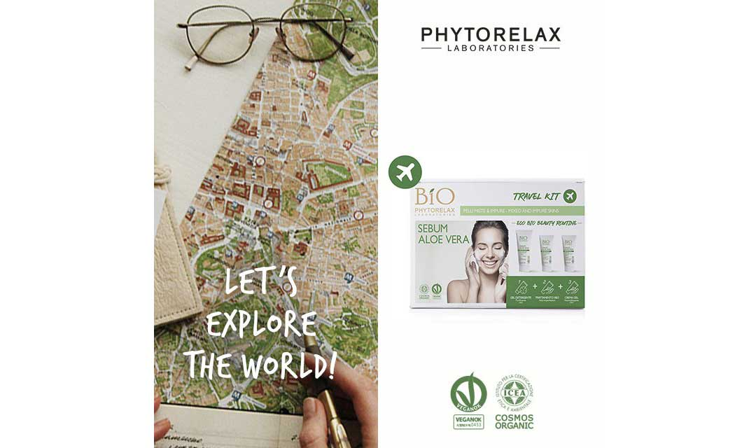 travel kit Phytorelax Sebum Aloe Vera