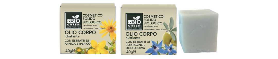 olio corpo solidi PH Bio Green